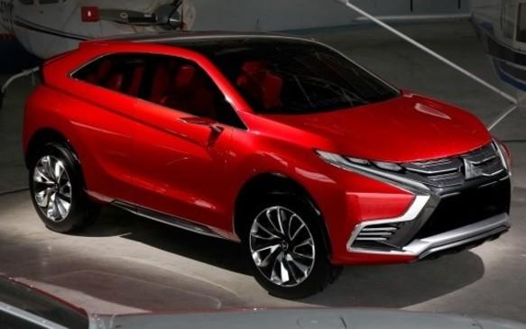 <p>Mitsubishi XR-PHEV-II Concept</p>