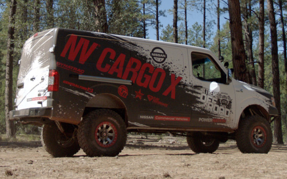 <p>Nissan NV Cargo X</p>