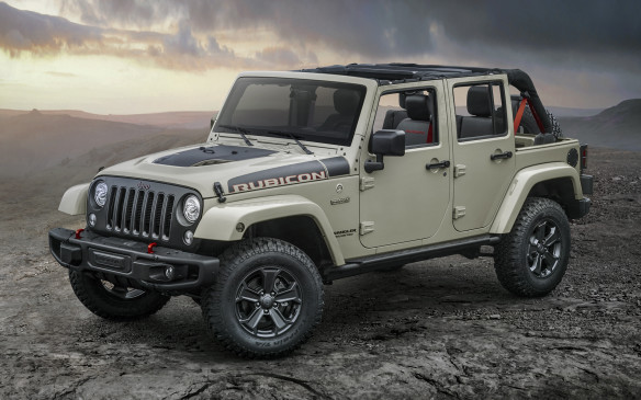 2017 Jeep Wrangler Rubicon Unlimited Recon Edition