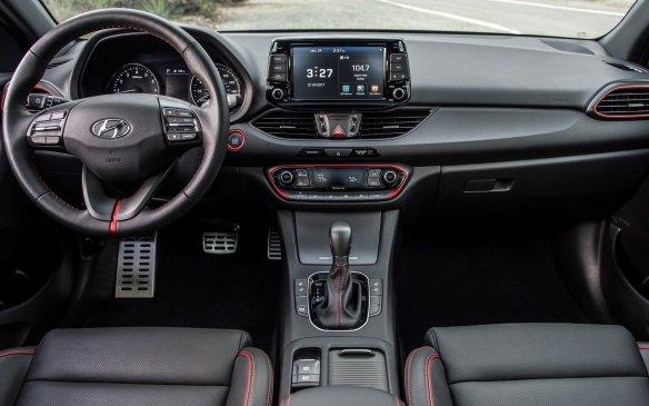 <p>2018 Hyundai Elantra GT interior</p>