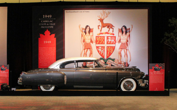 <p>This Canadian-owned 1949 Cadillac Coupe de Ville Prototype is a very special car built by General Motors for the Transportation Unlimited Exhibition of the first post-World War II Auto Show held in New York at the Waldorf Astoria Hotel. The predecessor of GM's two-door hardtop production models, it became the personal car of GM president Charles Wilson.</p>