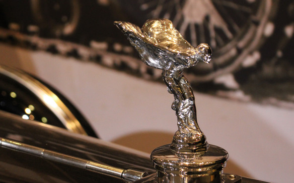<p>It is the last model of Rolls Royce that Sir Henry Royce, founder of the famous company with Charles Rolls and Claude Johnson, was involved with prior to his death in 1933. Like all Rolls-Royce, it is adorned with the 'Spirit of Ecstacy' hood ornament.</p>