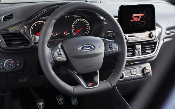 <p>Ford Fiesta ST interior</p>