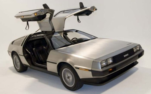 <p>The DeLorean Motor Company (DMC) created exactly one model, which has become more memorable for its stature in pop-culture than for its performance in the automotive universe. DeLorean's opus was the Belfast-built, 2-seat, rear-engine, rear-wheel drive coupe that would vault to stardom in the Back to the Future film franchise. It featured unpainted stainless steel body panels over a fiberglass structure (kinda mixed up from today's sports cars) with gullwing doors — by far its most noteworthy feature. Only 9,000 were made (over two years) with some 6,500 believed to still be in existence. (Credit: Wikipedia/Grenex)</p>