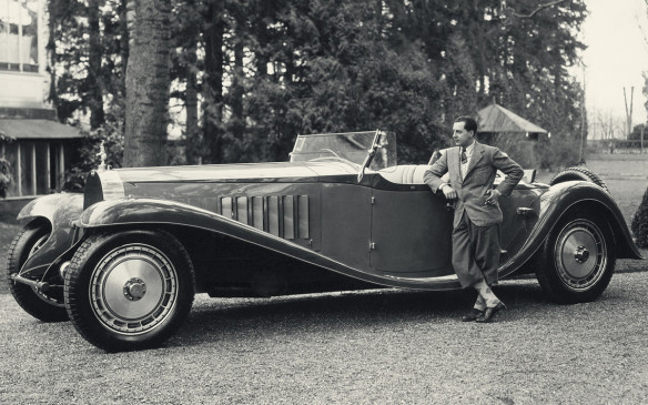 <p>Regarding himself as an artist as well as a constructor, Ettore Bugatti began building his extraordinary cars in the German city of Molsheim (now part of France) in 1910. Among his most famous creations is the hulking Royale (of which only six were produced, between 1927 and 1933), the sleek and sensuous Atlantic (1934-1940), and the bright blue Type 35 race cars (whose colour continues to be prominent on the company's current offerings).</p>