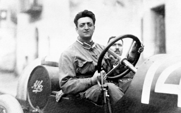 <p>Enzo Ferrari began his automotive career as a test driver for Italian truck-maker CMN and would soon after be promoted to racing driver, making his racing debut in the 1919 Parma-Poggio di Berceto hill climb. He progressed through various forms of racing and formed Scuderia Ferrari in 1929 to produce racing cars for Alfa, before branching out on his own around the end of World War II, and eventually creating Ferrari SpA in 1947 to produce the cars that today wear the prancing horse badge.</p>
