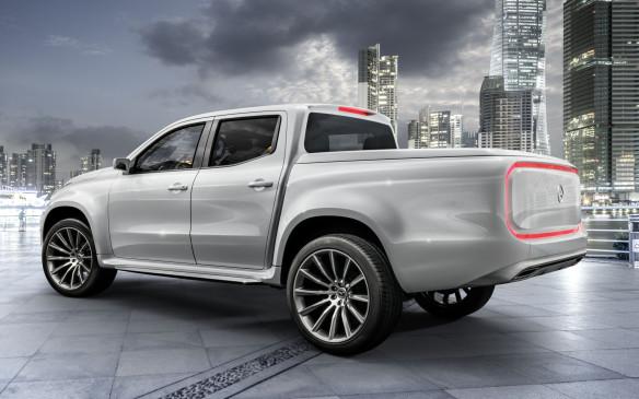 <p>Mercedes Concept X-Class Study</p>