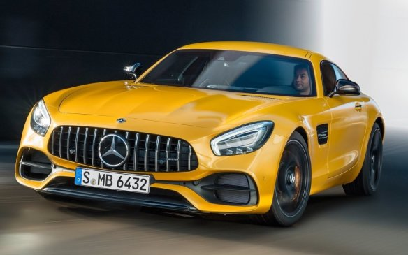 <p>Mercedes-AMG GT coupe</p>