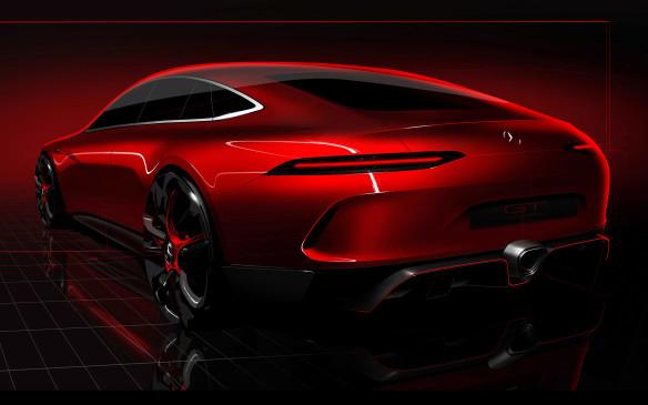 <p>Mercedes-AMG GT 4-door concept</p>