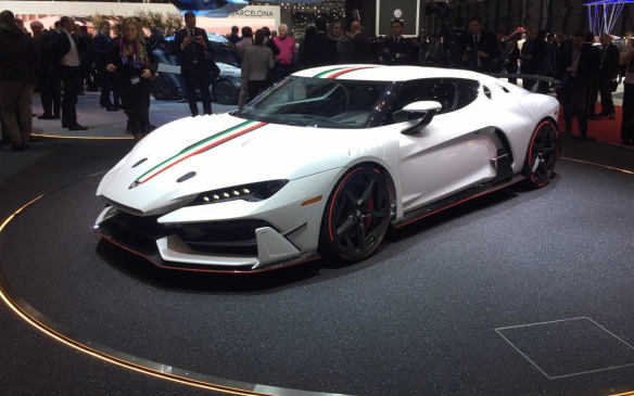 <p>Italdesign Automobili Speciali, as the new bespoke brand is now known, will be building five Zerouno supercars by year's end. Powered by a 5.2-litre V-10 sourced from Audi, Italdesign claims performance figures of 3.2 seconds to 100 km/h and a top speed in excess of 322 km/h (200 mph).</p>