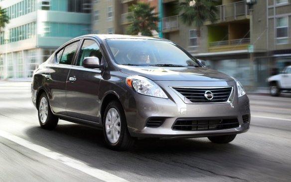 <p>2012 Nissan Versa sedan</p>