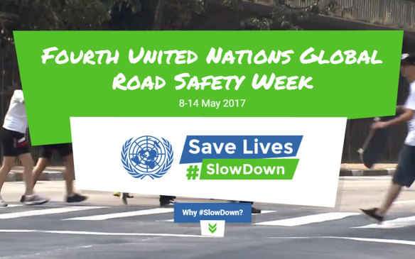 UN Global Road Safety Week