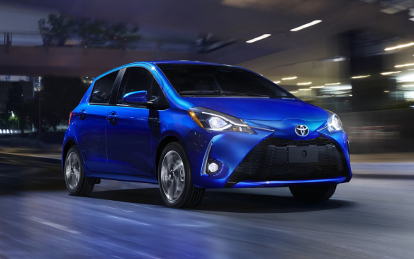<p>2018 Toyota Yaris</p>