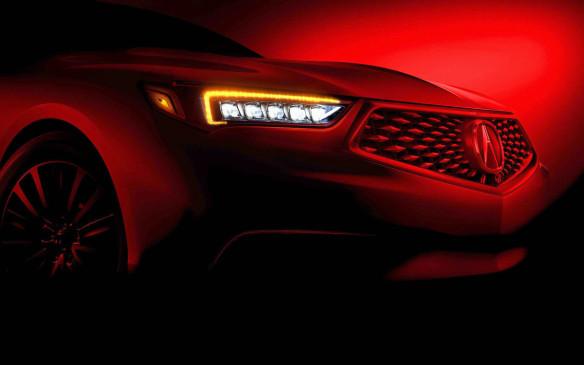 <p>2018 Acura TLX teaser</p>