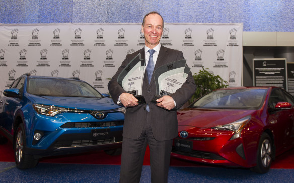 <p>2017 AJAC Canadian Green Car and Utility Vehicle of the Year</p>