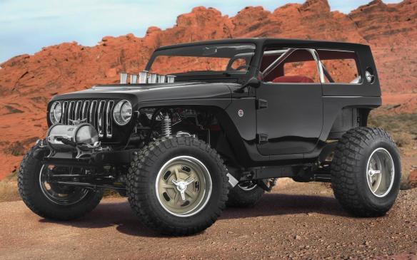 <p>Jeep Quicksand</p>