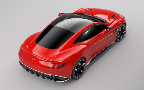 <p>Aston Martin Vanquish S Red Arrows Edition</p>