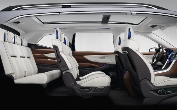 <p>Subaru Ascent concept seating</p>