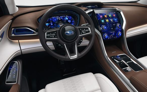 <p>Subaru Ascent concept interior</p>