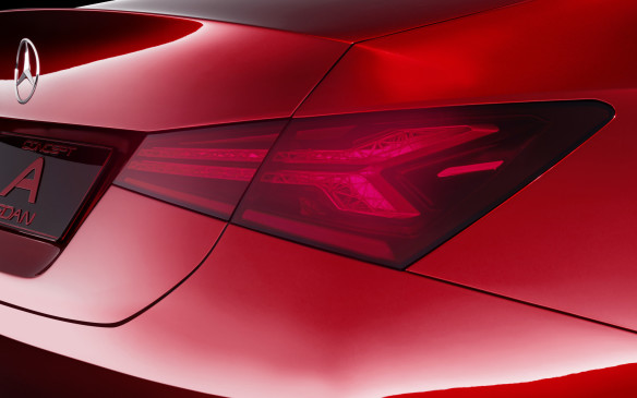 <p>Mercedes-Benz Concept A Sedan taillight</p>