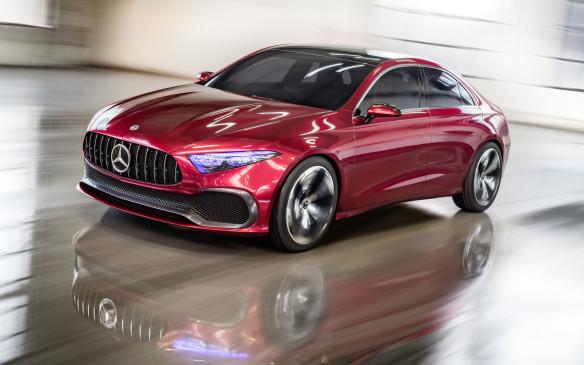 <p>Mercedes-Benz Concept A Sedan</p>