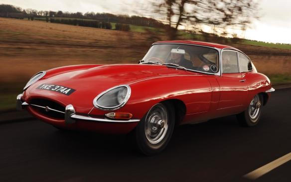 <p>Jaguar E-Type</p>