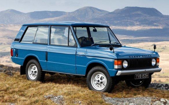 <p>1970 Range Rover</p>