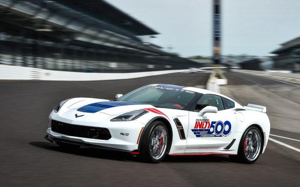 <p>2017 Corvette Grand Sport Indy 500 Pace Car</p>