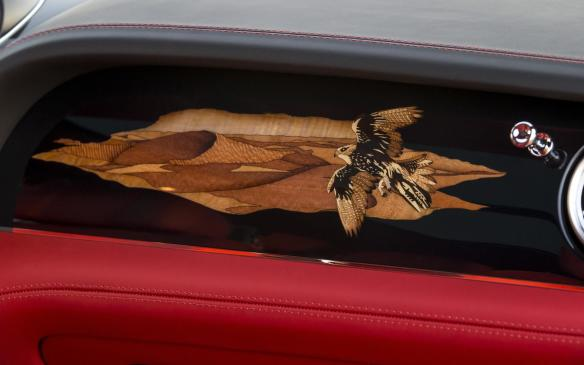 <p>Bentley Bentayga Falconry by Mulliner marquetry</p>