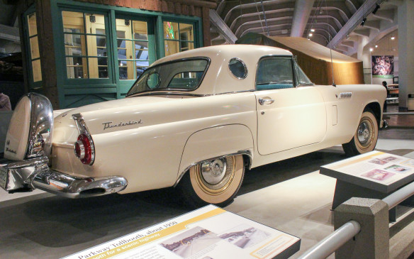 <p>Ford's response to the Corvette was the Thunderbird, not quite a direct competitor in terms of sportiness but more luxurious and more successful in terms of sales at the time.</p>