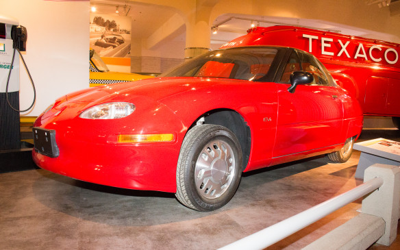 <p>As noted earlier, the range of vehicles displayed in The Henry Ford is extensive, including such noteworthy digressions as this aborted General Motors EV1 electric vehicle.</p>