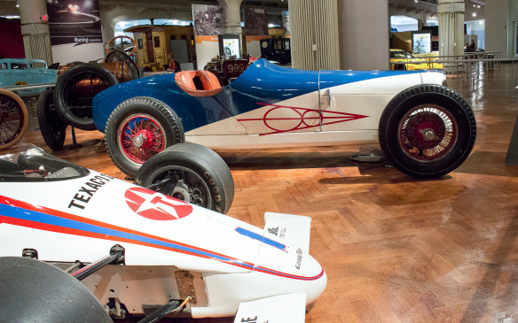 <p>Race cars of The Henry Ford Museum</p>