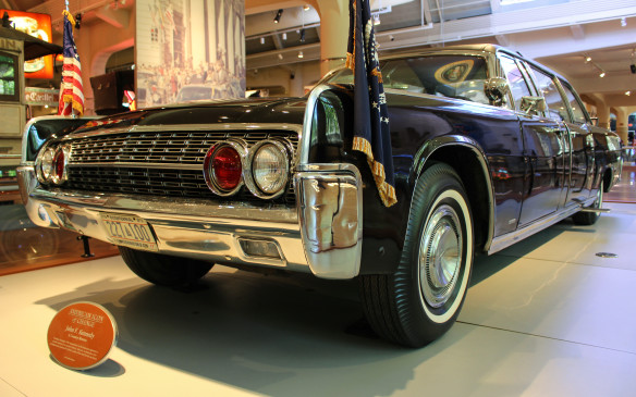 <p>The infamous Kennedy presidential limo is there as well, with major safety upgrades incorporated after the assassination to protect subsequent presidents.</p>