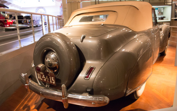 "<p>It's also the car that gave its name to the ""continental tire"" kit, which became a popular accessory in the 1950s.</p>"