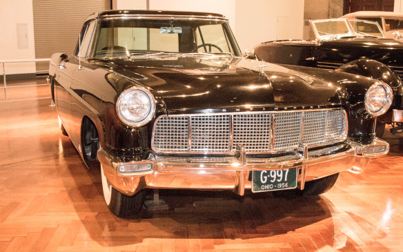 <p>Further up-market, the 1956 Lincoln Continental pioneered what would become the personal luxury coupe market, setting a standard for design sophistication in the process.</p>
