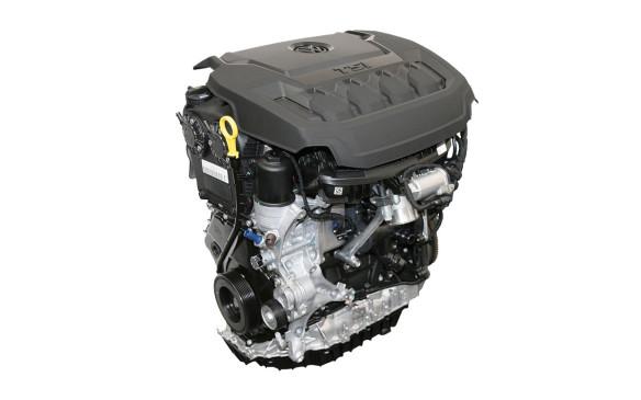 <p>Volkswagen Tiguan EA888 engine</p>