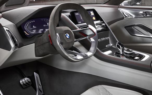 <p>BMW Concept 8 Series interior</p>
