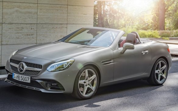 <p>2017 Mercedes-Benz SLC</p>
