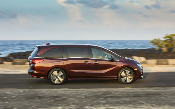 <p>As for the mechanicals, the 2018 Odyssey rides on an all-new chassis that is 40% stiffer and 34-kilos lighter than the old. It is remarkably quiet, with very little wind or road noise finding its way into the cabin. New steering and suspension systems have resulted in increased alacrity and less lean, but it is a minivan – not a sports car. </p>