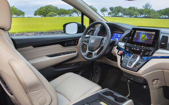 <p>All the latest infotainment features are standard or available including a cabin control app for your smart phone so you can control key features from afar, 4G LTE Wi-Fi and video streaming, Honda Link allowing remote start, find my car and customizable app tiles, and eureka, a volume knob! </p>