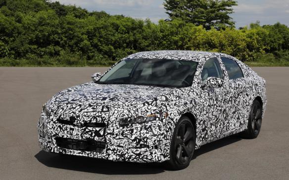 <p>2018 Honda Accord disguised</p>