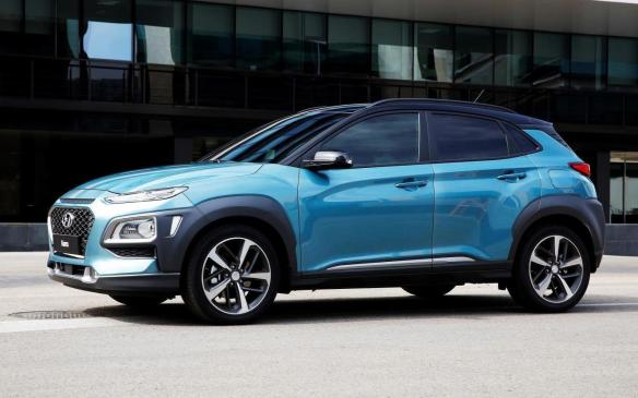 "<p>While it was <a href=""https://autofile.ca/en-ca/auto-news/hyundais-littlest-suv-a-tribute-to-hawaiis-big-island"">revealed in Korea last June</a>, Hyundai's sub-compact Kona CUV makes its world auto-show debut in LA, before coming to market in North America in late winter. Slotting below the Tucson in Hyundai's lineup, where it will compete with the likes of the Honda HR-V and the Mazda CX-3, it is the first of eight new utility vehicles in Hyundai's pipeline over the next few years. Power comes from a 147-hp 2.0-litre four-cylinder engine paired, with a six-speed automatic transmission, or an optional 175-hp, turbocharged and direct-injected 1.6-litre four with a 7-speed dual-clutch transmission. All-wheel-drive is optional.</p>"