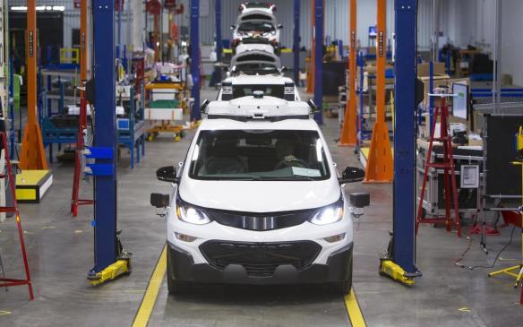 <p>Chevrolet Bolt EV at Orion Assembly</p>