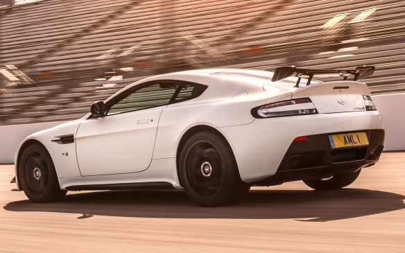 <p>Aston Martin Vantage AMR rear</p>