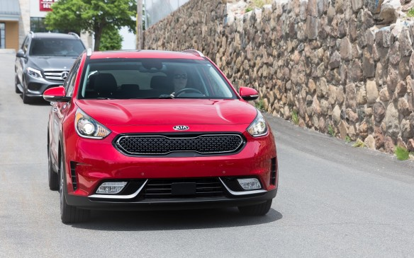 <p><strong>2017 Kia Niro SX Touring</strong></p> <ul> <li>Price as tested: $35,035 (starting price: $32,995.)</li> <li>104 hp, 1.6-litre four-cylinder engine and 43-hp electric motor; six-speed dual-clutch transmission.</li> <li>Fuel economy: 5.4 L/100 km combined; AJAC fuel consumption: 4.8 L/100 km combined.</li> </ul>