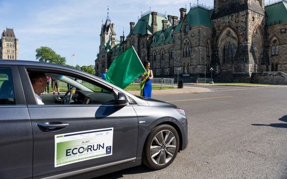 <p>The sixth annual edition of this event has just wrapped up after completing a run from Parliament Hill in Ottawa to the capital of <em>La Belle Provence</em>, Quebec City. This year's fleet of vehicles, all driven by AJAC members, demonstrated that there are numerous alternatives for Canadian consumers to consider, regardless of their budget, that will deliver optimum fuel efficiency and minimize harmful emissions.</p>
