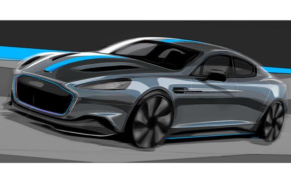 <p>Aston Martin RapidE</p>