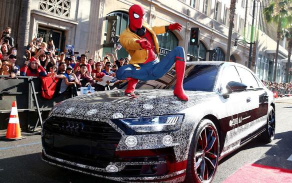 <p>Audi A8 - Spider-Man</p>