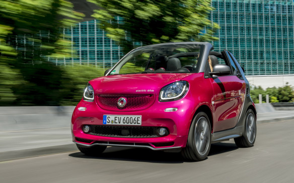 <p>From now on, the only new Smart car you can buy in North America will be electric. There may be a few of last year's gasoline-powered models still in dealerships, but when they're gone, they're gone. Fortunately, the 2018 Smart Fortwo electrics have bigger and faster-charging batteries, so they have greater range than before – good for about 120 kilometres in real-world driving on a full charge.</p> <p>By Mark Richardson</p>