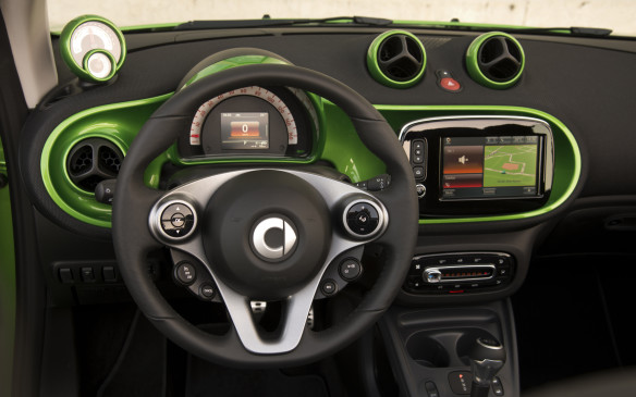<p>The instrumentation is improved for this fourth-generation model, with clear gauges to show range and energy consumption. Smart estimates that in Europe, the average Smart EV driver covers 35 km in a day, so range anxiety for city commuting shouldn't be too much of a concern.</p>